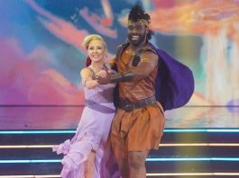 Anne Heche and Keo Motsepe on DWTS