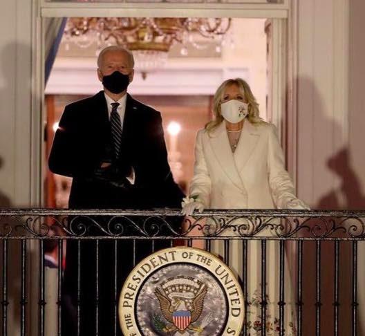 Jill Biden's inauguration outfit