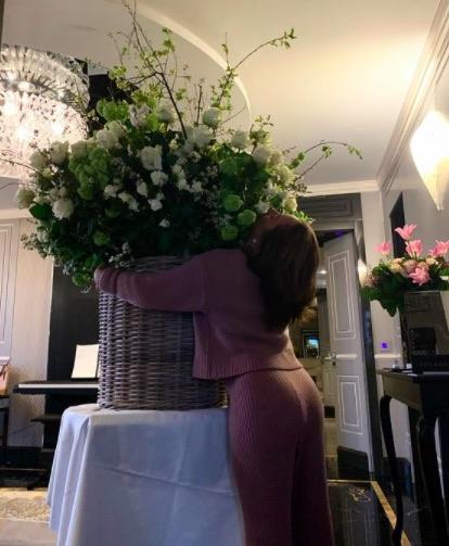 Lady Gaga's birthday flowers