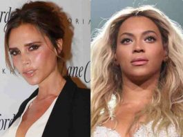 Victoria Beckham and Beyonce