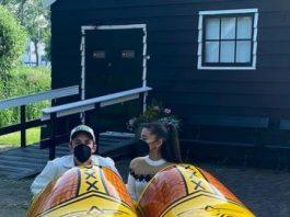 Ariana Grande's honeymoon