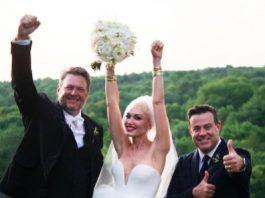 Blake Shelton and Gwen Stefani's wedding