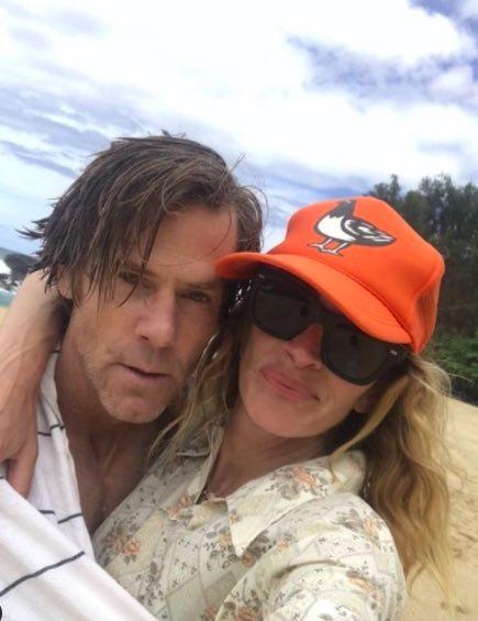 Julia Roberts with husband