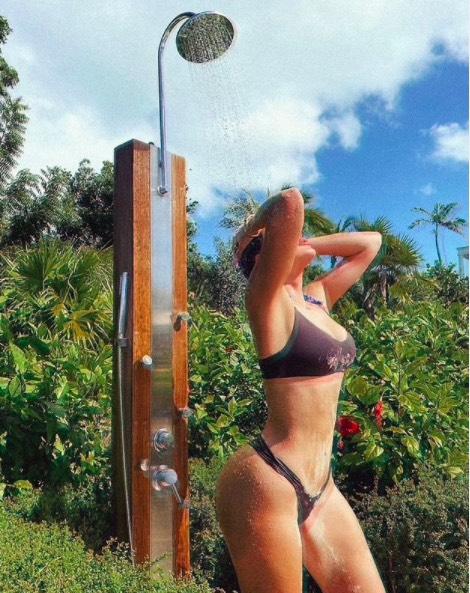 Khloe Kardashian's IG photo
