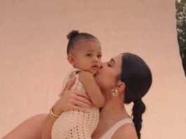 Kylie Jenner with Stormi Webster